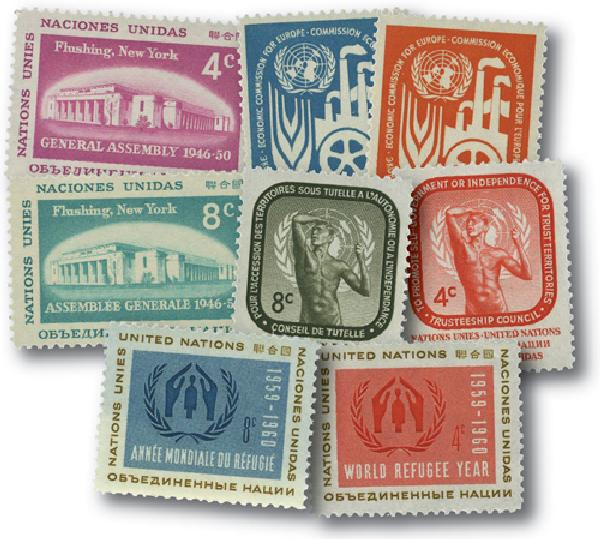 1959 United Nations New York Year Set
