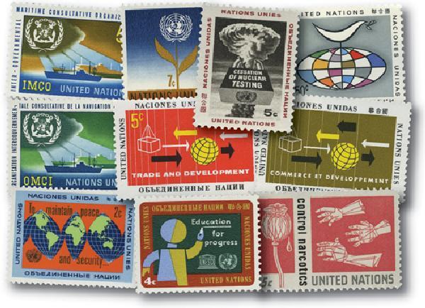 1964 United Nations New York Year Set