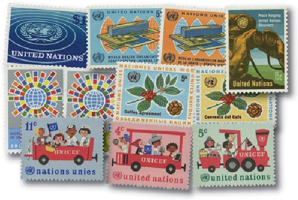 1966 United Nations New York Year Set