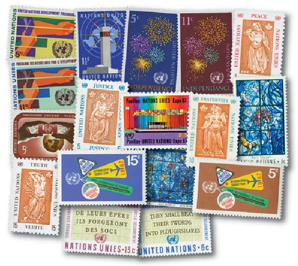 1967 United Nations New York Year Set