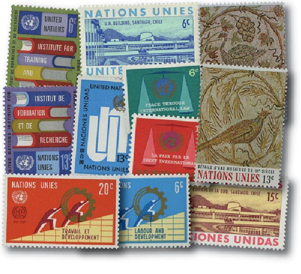 1969 United Nations New York Year Set