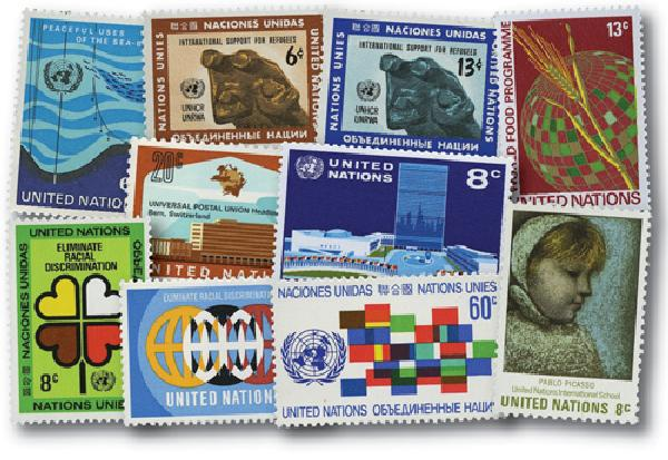 1971 United Nations New York Year Set