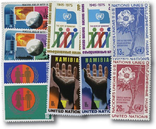1975 United Nations New York Year Set