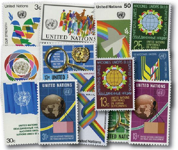 1976 United Nations New York Year Set
