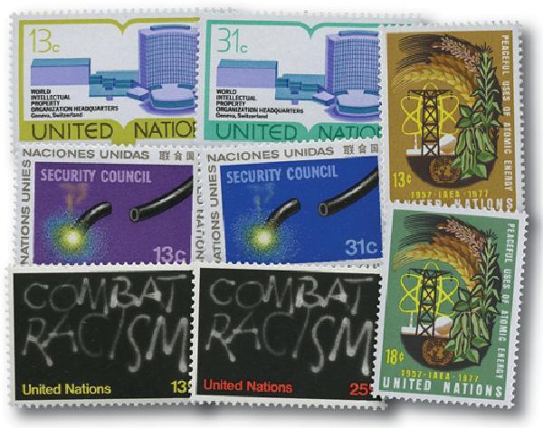 1977 United Nations New York Year Set