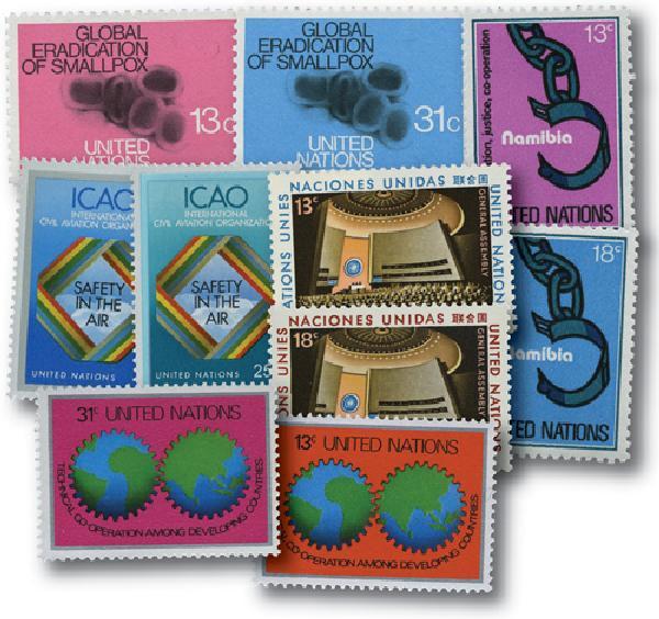 1978 United Nations New York Year Set