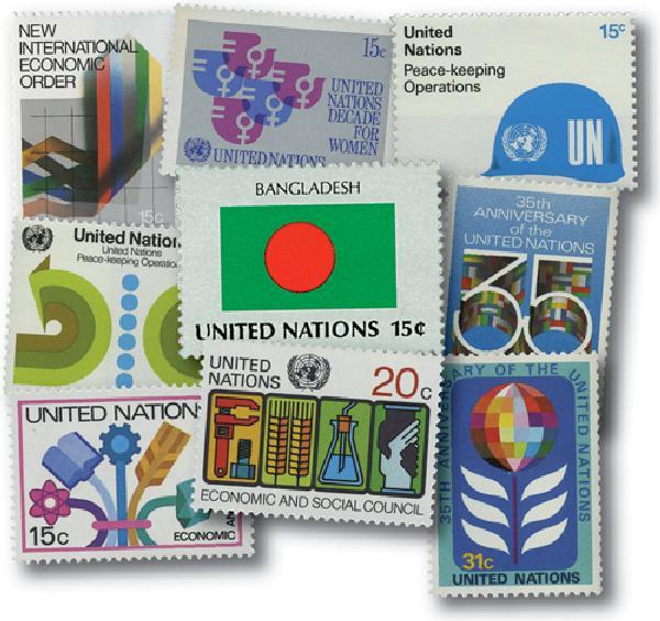 1980 United Nations New York Year Set