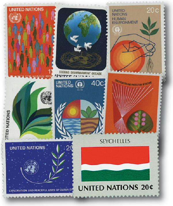1982 United Nations New York Year Set
