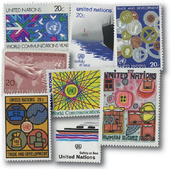 1983 United Nations New York Year Set