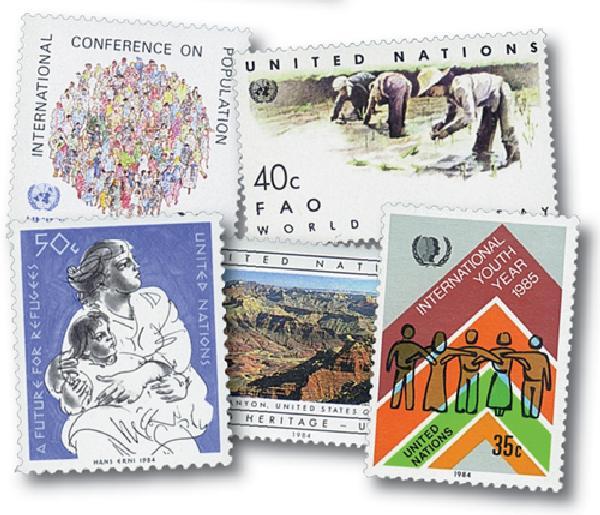 1984 United Nations New York Year Set