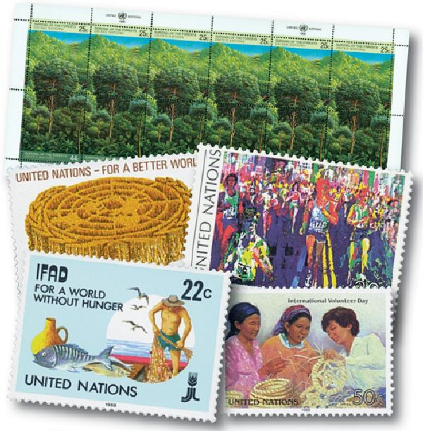 1988 United Nations New York Year Set