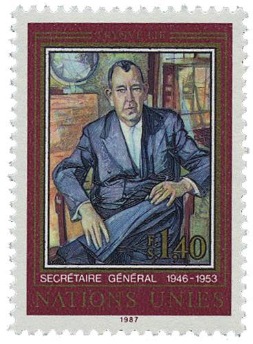 1987 First Secratary General,Trygve Lie