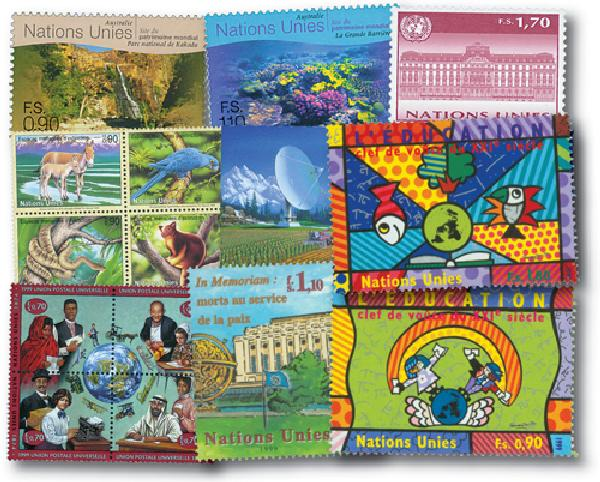 1999 United Nations Geneva Year Set