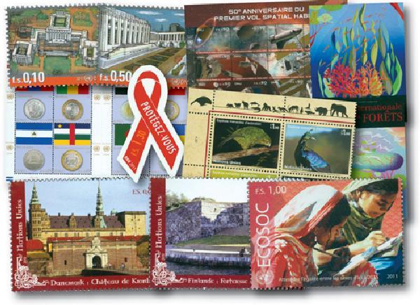 2011 United Nations Geneva Year Set