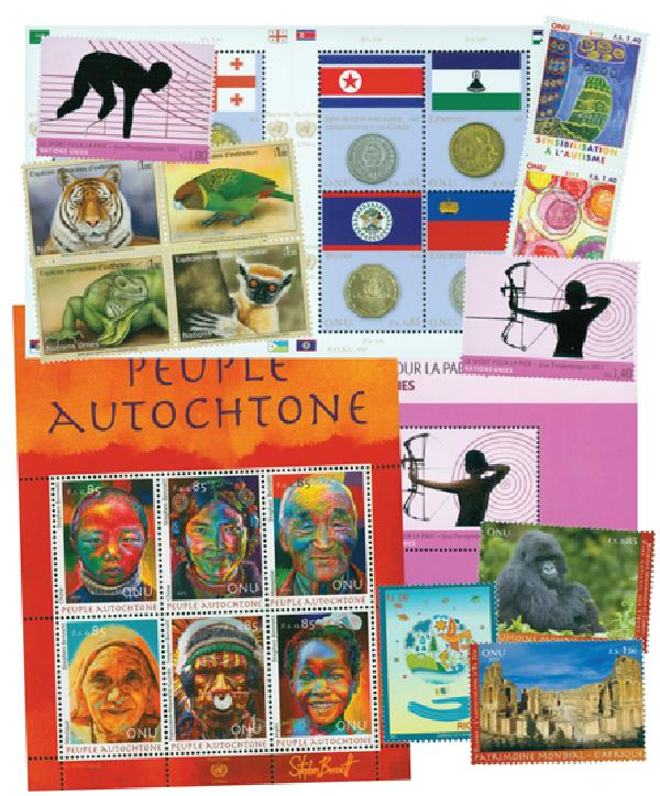 2012 United Nations Geneva Year Set
