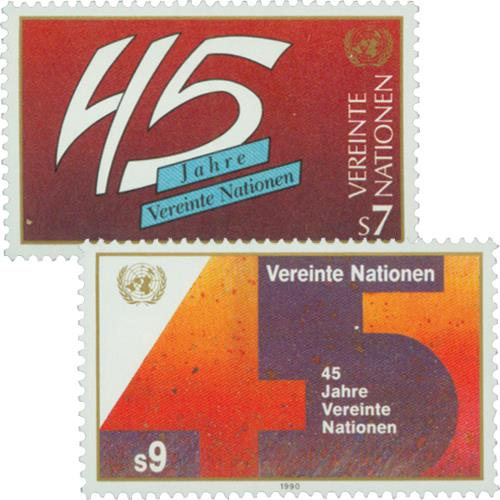 1990 United Nations, 45th Anniversary