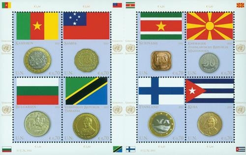 Vienna Flag & Coin