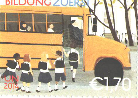 2014 1.70 Education First - School Bus