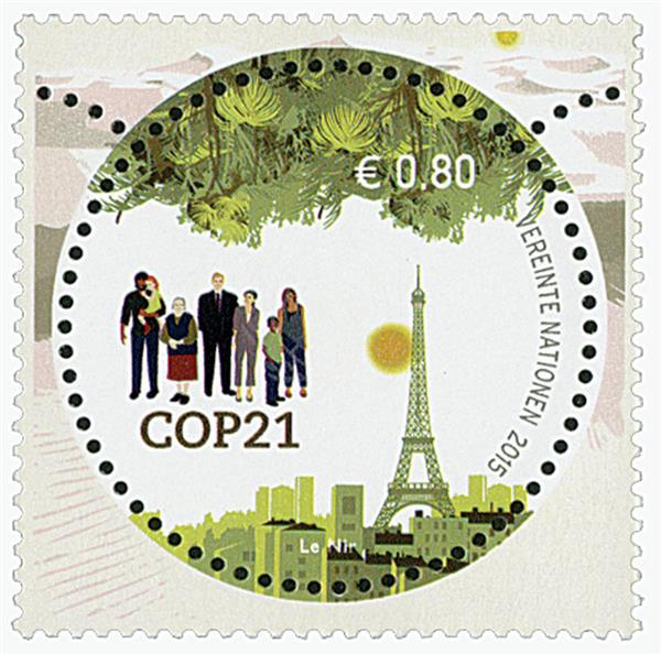 2015 80c Climate Change Conference
