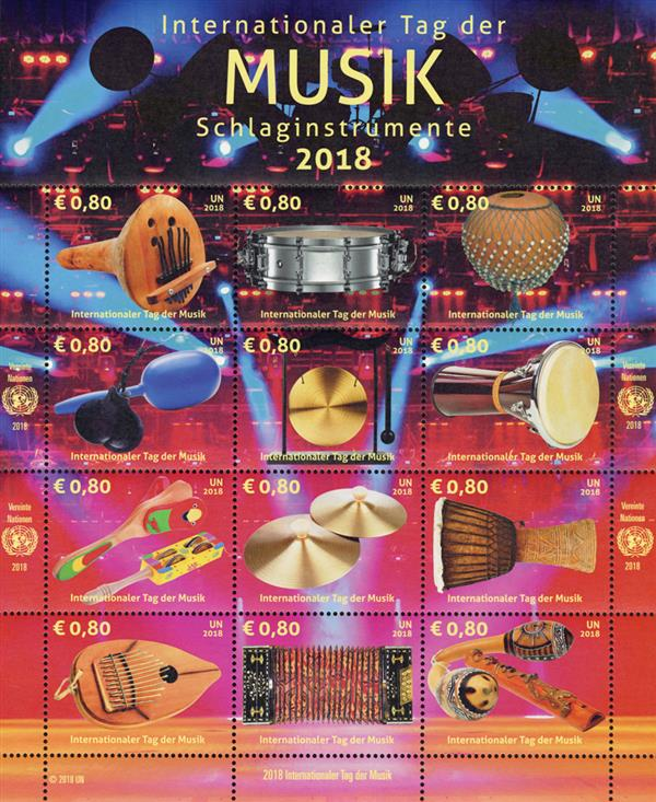 2018 0,80 Percussion, Intl Music Day