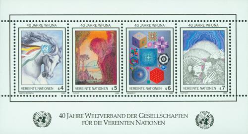 1986 WFUNA 40th Anniversary, S/S