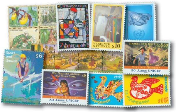 1996 UN Vienna Year Set, 19 mint