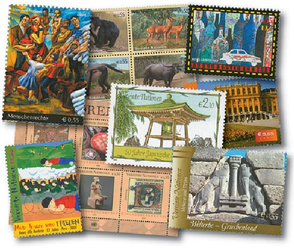 2004 United Nations Vienna Year Set