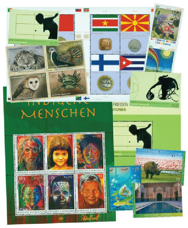 2012 United Nations Vienna Year Set