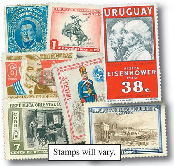 Uruguay, set of 100