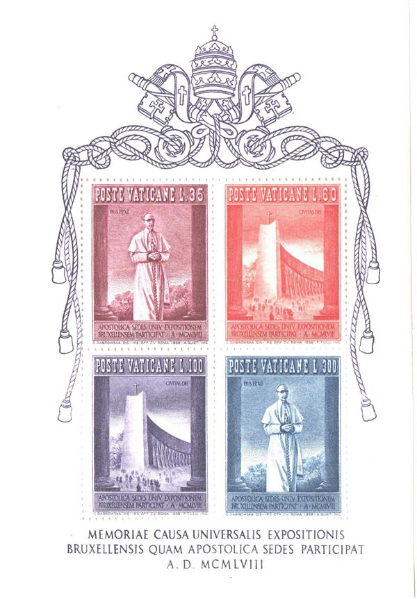 Pope Pius Xii Stamps For Sale At Mystic Stamp Company