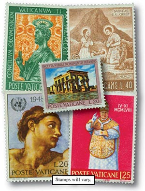 Vatican City, set of 25