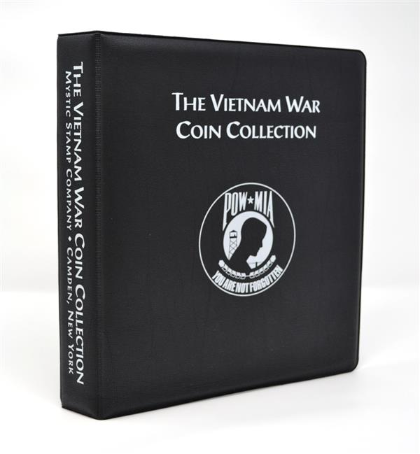Mystics Vietnam War Coin Collection Binder