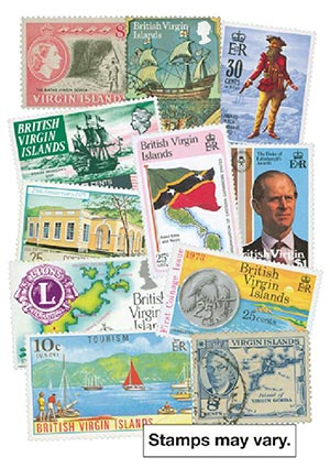 Virgin Islands, 200 stamps