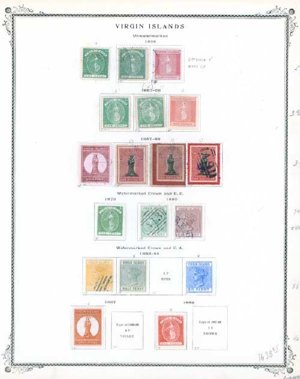1866-1982 Virgin Islands