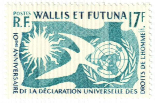 1958 Wallis & Futuna Islands