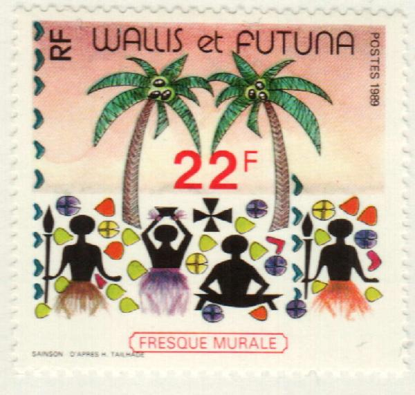 1989 Wallis & Futuna Islands