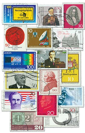 West Germany Pictorials, 100v