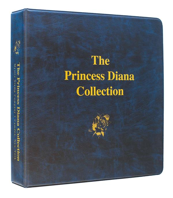 Mystic's Princess Diana Collection Binder, 3-Ring 10 x 11 1/2