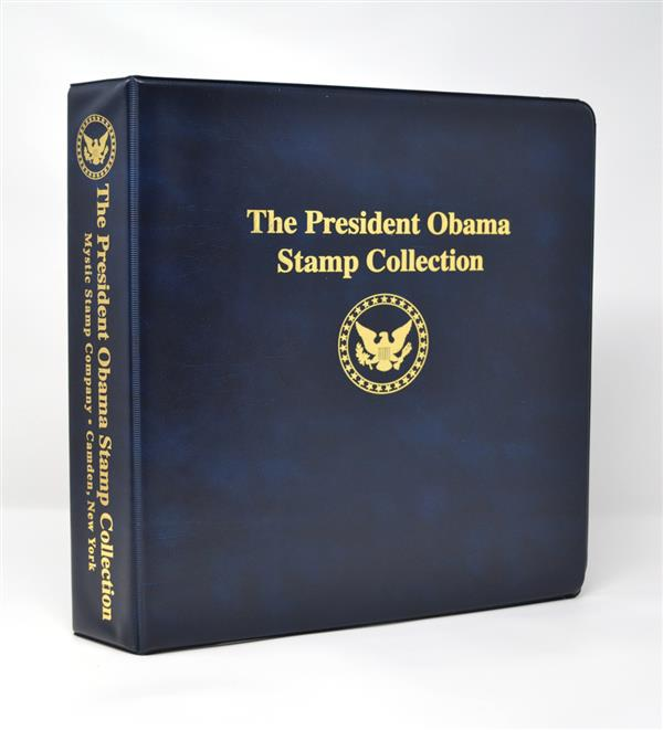 Mystic's President Obama Collection Binder, 3-Ring, 11 x 11 1/2
