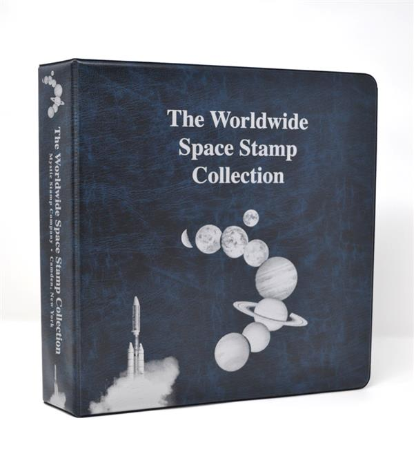 Mystic's Worldwide Space Collection Binder, 3-Ring, 11 x 11 1/2