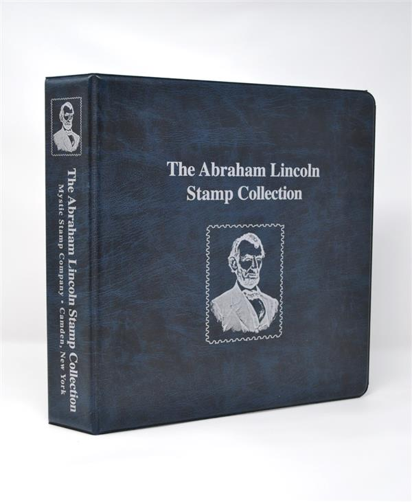 Mystic's Abraham Lincoln Collection Binder, 3-Ring, 11 x 11 1/2
