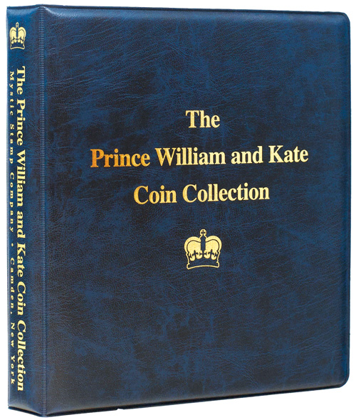 Prince Will & Kate Collection Binder