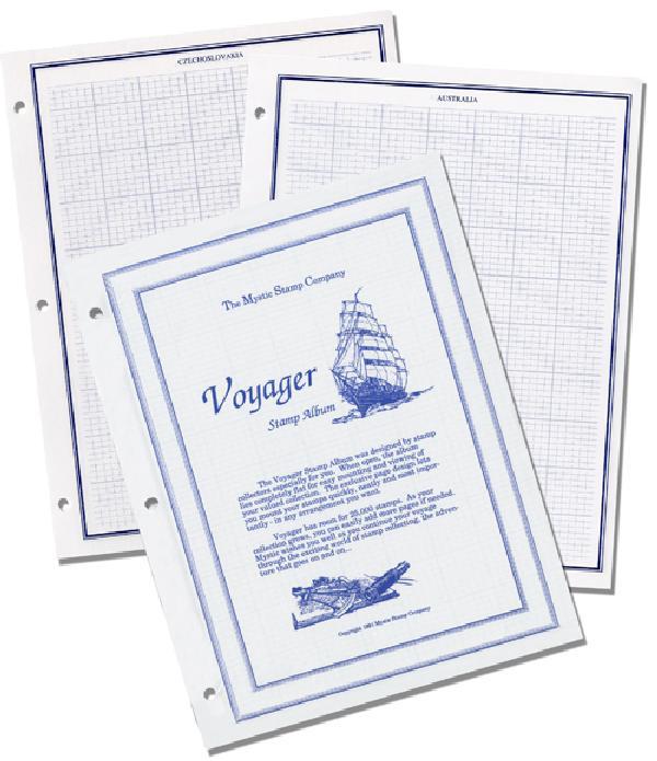 Mystic Voyager Album Pages
