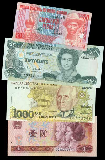 Worldwide Banknote Collection 159v
