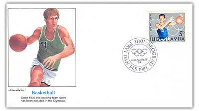 1984 5d Yugoslavia Basketball Cover
