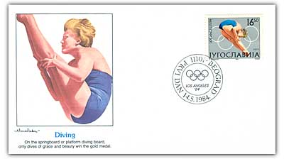 1984 16.5d Yugo Diving Cover