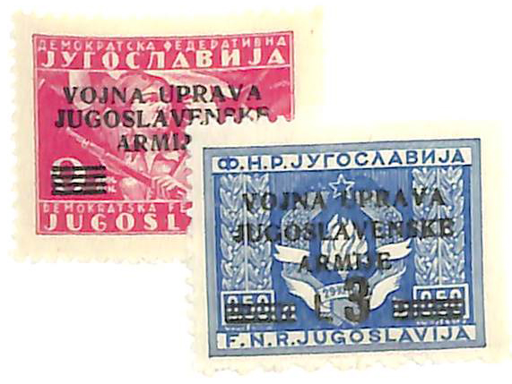 1947 Yugoslavia-Istria