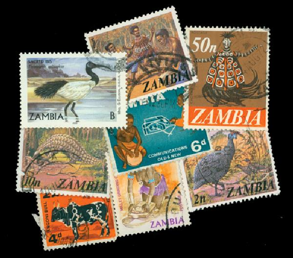 Zambia, set of 25