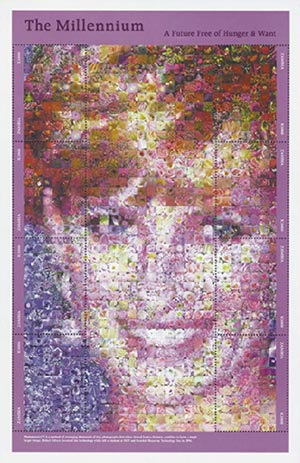 Zambia Princess Diana Photomosaic