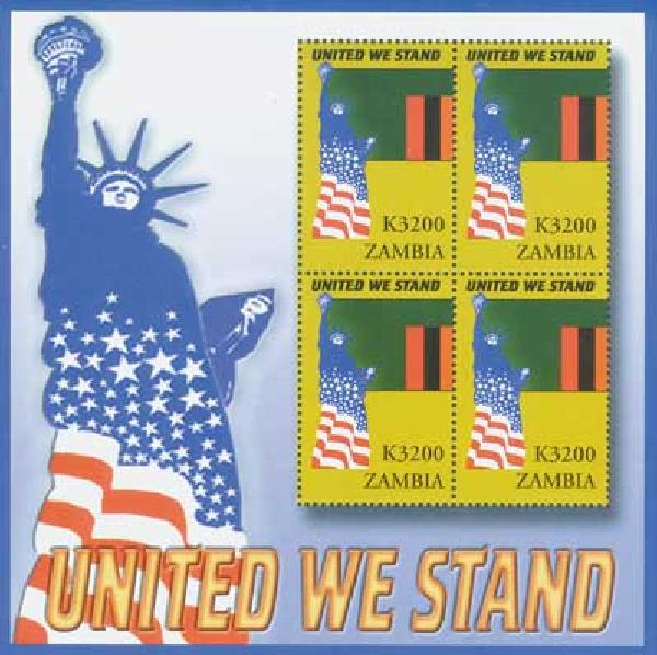 Zambia, K3200 United We Stand, S/S, mint